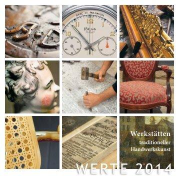 WERTE 2014 - Schloss Solitude - Stuttgart