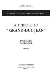 """ GRAND-DUC JEAN"""