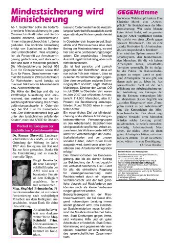 Infos 87 - September 2010