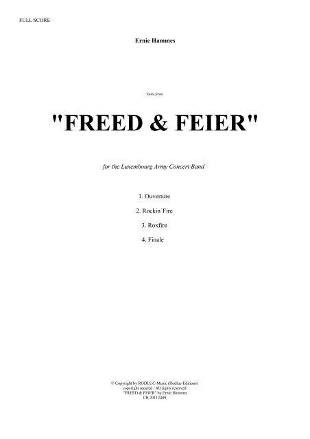 Freed & Feier