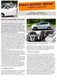 Autotest-Report Nr. 8