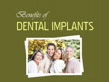 Dental Implants Lafayette - Benefits of Dental Implants