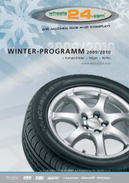 WINTER-PROGRAMM 2009/2010 - anzio wheels