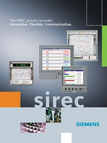 SIREC process recorders.
