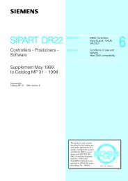SIPART DR22