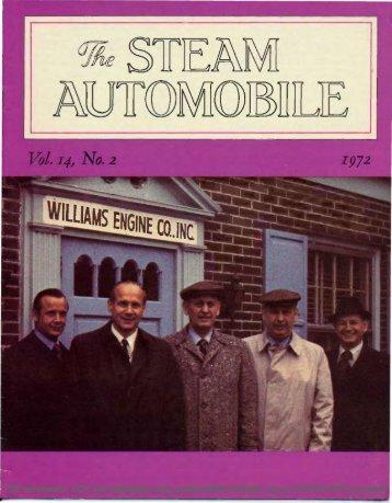 Vol. 14, No. 2, 1972, 20pp - Steam Automobile Club of America
