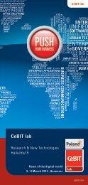 CeBIT lab talk Broschüre - DFKI