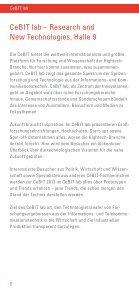 CeBIT lab talk Broschüre - DFKI - Seite 6