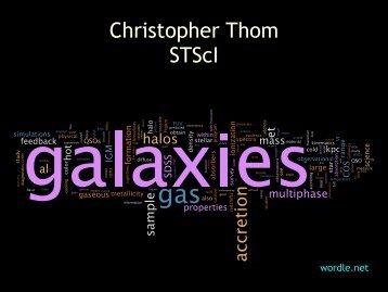 Christopher Thom STScI