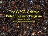 The WFC3 Galactic Bulge Treasury Program