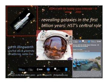 illingworth GDI-HSTI.. - Space Telescope-European Coordinating ...