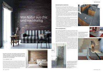 Von Natur aus chic und nachhaltig - Emilio Stecher AG