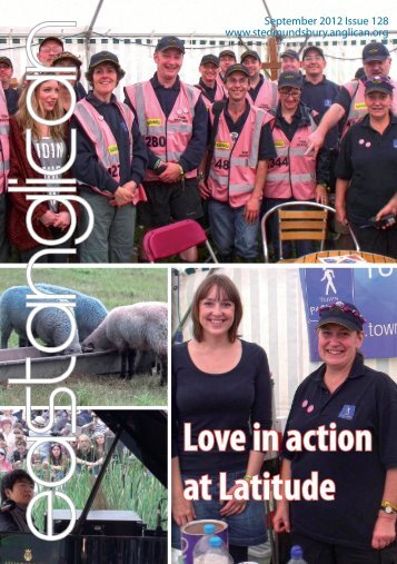 Love in action at Latitude - The Diocese of St Edmundsbury and ...