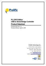 Pl-2303 edition usb to serial bridge controller product datasheet