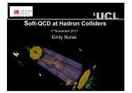 What is soft-QCD? - High Energy Physics