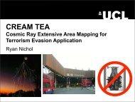CREAM TEA - UCL