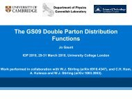 The GS09 Double Parton Distribution Functions - High Energy Physics