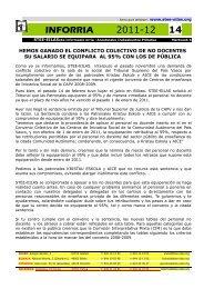 INFORRIA 14 - Sentencia del conflicto colectivo de no ... - Stee-Eilas