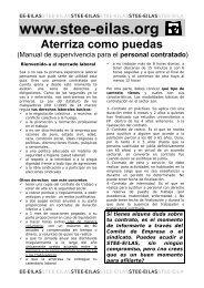Manual para el personal de nueva contratación - Stee-Eilas