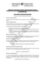 1 convenio colectivo para el personal laboral docente y ... - Stee-Eilas