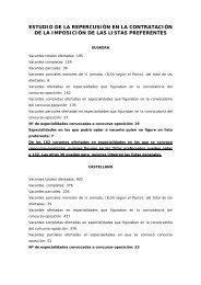 ESTUDIO DE LA REPERCUSIÓN EN LA ... - Stee-Eilas