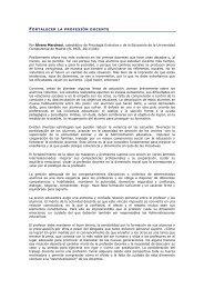 FORTALECER LA PROFESIÓN DOCENTE Por Álvaro ... - Stee-Eilas