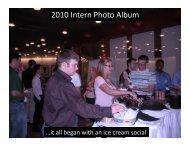 2010 Intern Photo Album - Steelcase