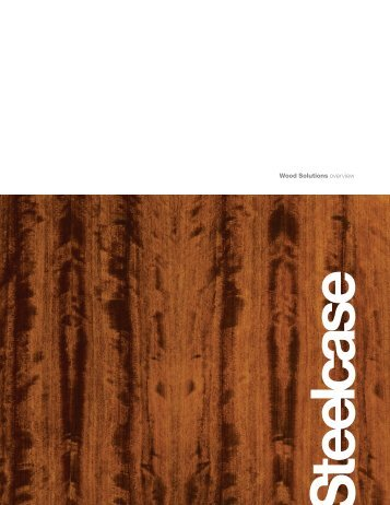 Wood Overview Brochure - Steelcase
