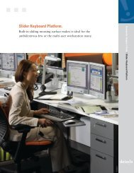Slider Keyboard Platform. - Steelcase
