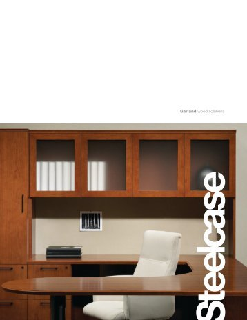 Garland wood solutions - Steelcase