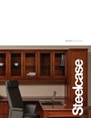 Norfolk II wood solutions - Steelcase