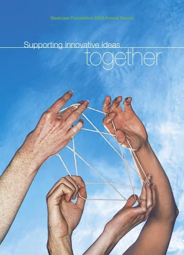 Supporting innovative ideas - Steelcase