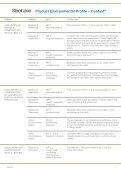 Product Environmental Profile – Context® - Steelcase - Page 2