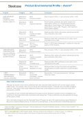 S Product Environmental Profile – Avenir® - Steelcase - Page 2