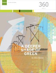 A Deeper Shade of Green - Steelcase
