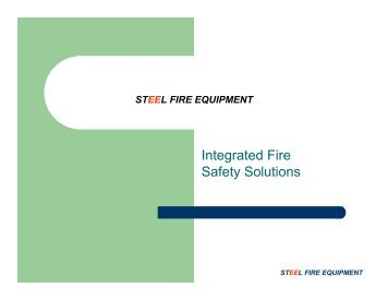 Integrated Fire Safety Solutions - Steel Fire Equipment
