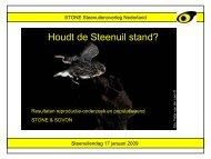 Houdt de Steenuil stand? - STeenuil Overleg NEderland