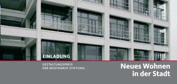 Neues Wohnen in der Stadt - Stefan Forster Architekten