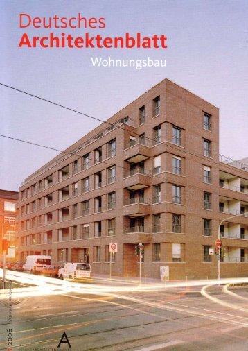Wohnen im städtischen Block - Stefan Forster Architekten