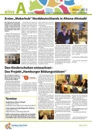 Stadtteilzeitung Ausgabe 28, März 2013 - Entwicklungsquartier ...