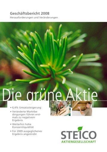 STEICO DE Geschaeftsbericht 2008 rz online ES