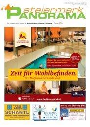 Ausgabe Oktober 2013 - Steiermark Panorama - Aktuell