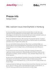 Presse-Info - Steigenberger Hotel Group