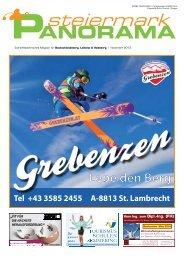 Ausgabe November 2013 - Steiermark Panorama - Aktuell