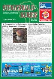 Ausgabe 1063 - Steigerwald-Kurier