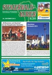 Ausgabe 1065 - Steigerwald-Kurier