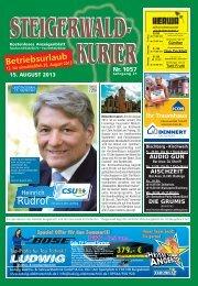 Ausgabe 1057 - Steigerwald-Kurier