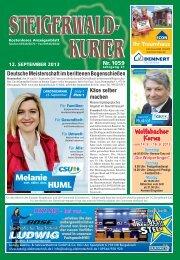Ausgabe 1059 - Steigerwald-Kurier
