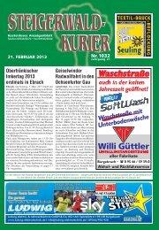 Ausgabe 1032 - Steigerwald-Kurier
