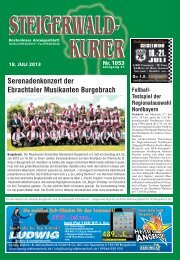 Ausgabe 1053 - Steigerwald-Kurier